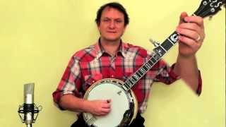 getlinkyoutube.com-Banjo for beginners - play Cripple Creek!