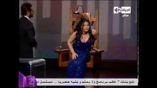 getlinkyoutube.com-برنامج ولا تحلم - ليلى غفران ترفض الجلوس على كرسى الإعدام مع نيشان