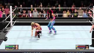 getlinkyoutube.com-WWE 2K16 Superstars Natalya vs Layla