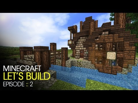Minecraft :: Lets Build :: E2