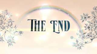 getlinkyoutube.com-The End Animation Rainbow Floral - Royalty Free 4K Animation - AA VFX