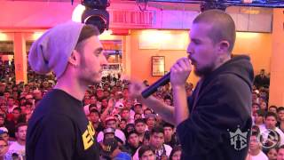getlinkyoutube.com-Batalla Linea Dieciseis XL Blon (España) VS Proof (México) (Video Oficial)