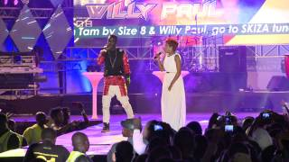 "getlinkyoutube.com-SIZE 8 AND WILLY PAUL PERFORMING ""TAM TAM REMIX"" GROOVE PARTY"