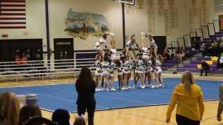 getlinkyoutube.com-Neuqua Valley Varsity Cheer @ Sectionals 2014