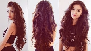 getlinkyoutube.com-My Everyday Hair: Heatless Wavy Hair