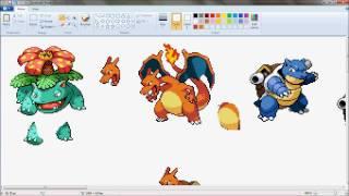 getlinkyoutube.com-Pokemon Fusion Sprite Maker Live Ep 1-Blaszotar