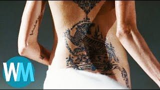 Top 10 Best Celebrity Tattoos
