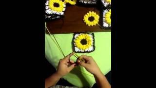 getlinkyoutube.com-Girasol en crochet video # 1