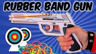 getlinkyoutube.com-How to Make a Rubber Band Gun Cardboard