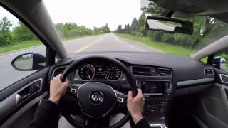 getlinkyoutube.com-2015 Volkswagen e-Golf - WR TV POV Test Drive