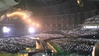 getlinkyoutube.com-151010 고척돔 EXO-Love 콘서트- 시작전 엘도라도 야광봉