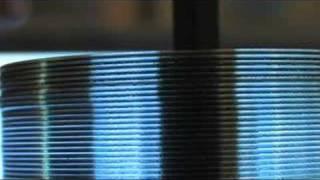 getlinkyoutube.com-CD TESLA TURBINE MAKE A TESLA TURBINE OUT OF CD DVD platters for free energy турбина тесла