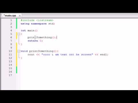 Buckys C++ Programming Tutorials - 9 - Functions