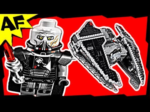 Star Wars Sith Fury Class Interceptor - Animated Lego Building Review 9500