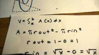 James Stewart Single Variable Calculus Section 6.2 #23 view on youtube.com tube online.