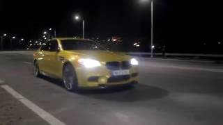 getlinkyoutube.com-GTP BMW M5 F10 730HP - Tbilisi Night Drift