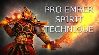 getlinkyoutube.com-Dota 2 Tips and Tricks: Pro Ember Spirit Technique (Extend Reach of Remnant)