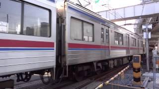 【京成電鉄】京成高砂駅3番線→高砂検車区入庫 3728F