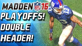 PLAYOFFS DOUBLE HEADER! ALL OR NOTHING!  - Madden 16 Ultimate Team