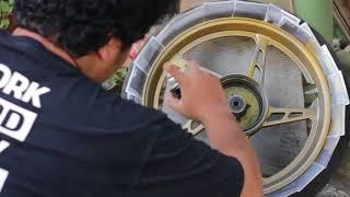 My Yamaha Jupiter Z1 Get Wheels Painting