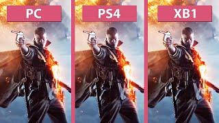 getlinkyoutube.com-Battlefield 1 – PC Ultra vs. PS4 vs. Xbox One Alpha Graphics Comparison