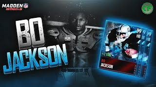 getlinkyoutube.com-Madden Mobile 16 - 99 BO JACKSON! Gameplay/Review