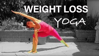 getlinkyoutube.com-POWER YOGA CLASS Vinyasa Level 1-2 Core ABS Cardio Weight Loss