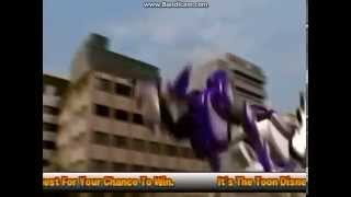 getlinkyoutube.com-Power Rangers Jungle Fury Wolf Zord