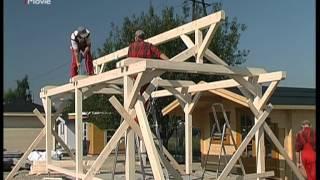 getlinkyoutube.com-Bertsch Holzbau - Montagefilm Modell Carport Prestige