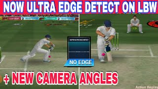 NOW SUPER ULTRA EDGE DETECT IN LBW🔥WCC2 V2.7.8 UPDATE🔥NEW CAMERA ANGLES🔥ULTRA EDGE IN LBW