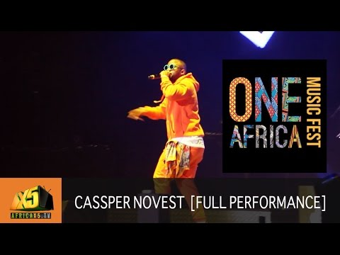 ONE AFRICA MUSIC FEST 2017 | Cassper Novest [Full Performance]