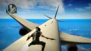 getlinkyoutube.com-Just Cause 2   Plane Surfing