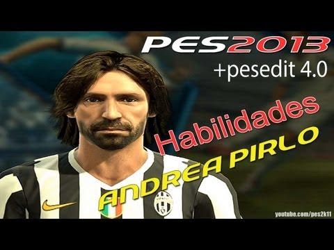 Andrea Pirlo Habilidades PES 2013 + PESEDIT 4.0