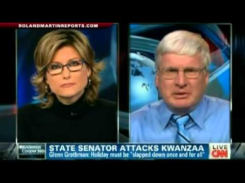 Roland Martin, Ashleigh Banfield Confront State Senator Grothman For Attack On Kwanzaa