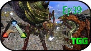 getlinkyoutube.com-Ark: Survival Evolved Ep:39 Taming the Dragon (Megas Mod) and Small Dragons vs. Broodmother