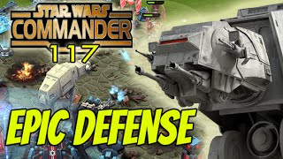 getlinkyoutube.com-Star Wars Commander Empire #117 - EPIC Defense !
