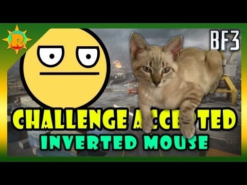 ☼ Battlefield 3 - Challenge Accepted #20 (Inverted Mouse) + Derpina Vlog