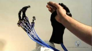getlinkyoutube.com-Animatronic Robotic Human Robotic Hands Servo 6 DoF