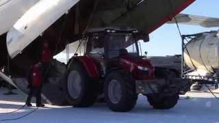 Massey Ferguson Antarctica2 tractor arrives in Antarctica