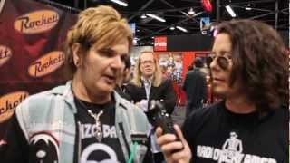 RIKKI ROCKETT Talks Drums At NAMM (Video Available)
