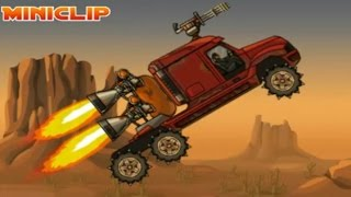 getlinkyoutube.com-Juego de Autos 73: Earn To Die 1* Earn To Die-2  All the Misssions