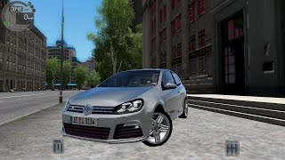 getlinkyoutube.com-City Car Driving 1.5.3 VW Golf 6 VI R [G27]