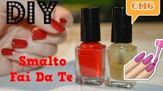 getlinkyoutube.com-COME FARE lo SMALTO IN CASA! colorato e rinforzante DIY nail polish