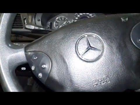 Как снять AIRBAG и руль на Mercedes-Benz Е-class. Авто - ремонт