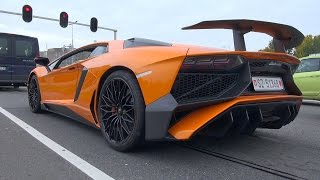 getlinkyoutube.com-Lamborghini Aventador LP750-4 SuperVeloce - INSANE REVS!!