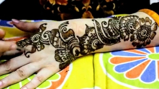 getlinkyoutube.com-Arabic Mehndi Designs - Indo Arabic Mehendi style