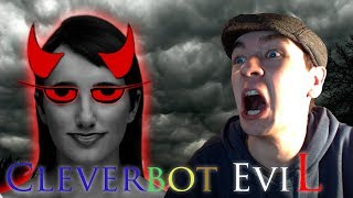 getlinkyoutube.com-Cleverbot Evie | SHE KNOWS MY REAL NAME! | Evie is EviL
