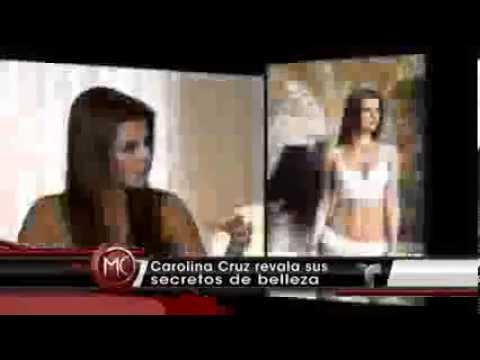 Carolina Cruz y sus Secreticos de Belleza