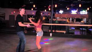 getlinkyoutube.com-Country Dancing - Swing, Aerials, Flips, Waterfall, Candlestick, Dips | Line Dancing