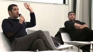 getlinkyoutube.com-Nabil Ayouch et Mahi Binebine, invités de l'association HEC Monde Arabe.